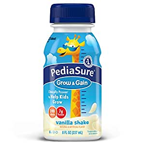 Pediasure Nutrition Drink, Vanilla, 8 FL oz Bottles 16 Count