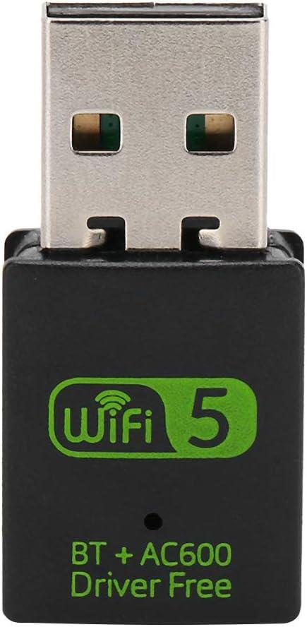Tarjeta de Red Inalámbrica, 600MB WiFi Bluetooth 4.2 Dongle ...