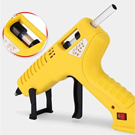Plastic,Pink Home Repairs WUNH Hot Glue Gun ON-Off Switch For DIY Arts Fabric,Wood Craft Glass Hobby Card