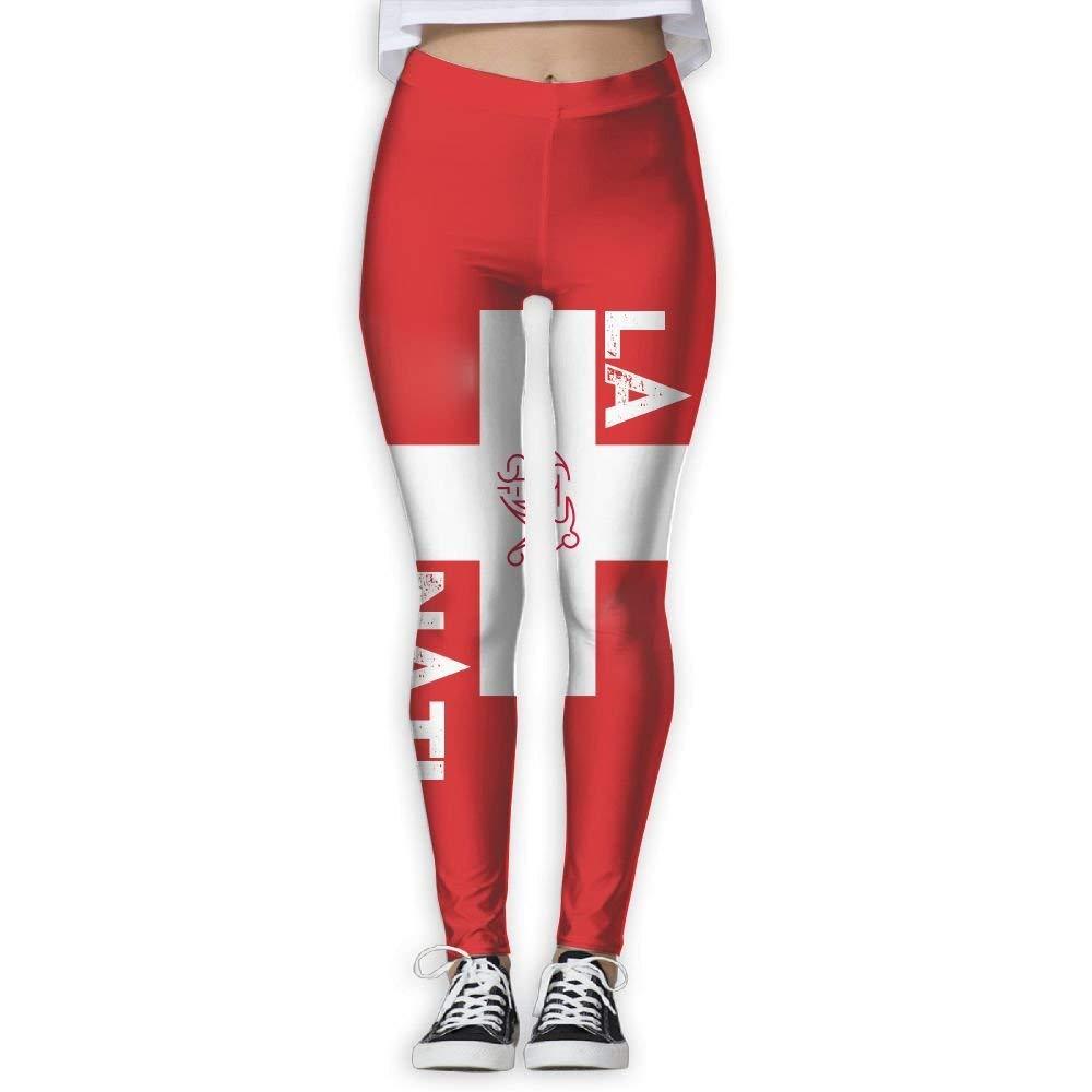 CVDGSAD Mujeres/Chica Pantalones de yoga Suiza Fútbol ...