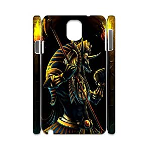 ZHANG ? super Cool with a 3D The death of Anubis Skin Case for Samsung Galaxy Note 3 III (Black & White)