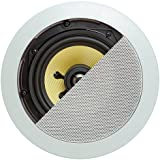 Cmple - 5.25 quot; Surround Sound 2-Way Wall Ceiling Kevlar Sound System of 2 Speakers (50 100 Watt)