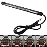 """Auxbar 3rd Brake Tail Lights Strip 8"""" Motorcycle 48 LED 3528 SMD Stop Turn Signals Plate Licenses Light for Harley Davidson ATVs Scooters Touring Bikes"""