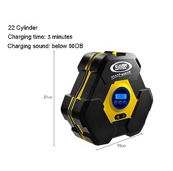 Compresores De Aire Portable Auto Digital Kit Para El Neumático Del Coche Bicicletas Motocicleta Bolas Bombas Para Coche Compresor Aire Coche,C: Amazon.es: ...