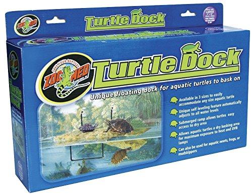 ZOO MED LARGE TURTLE FLOATING DOCK (Zoomed Tortoise Food)