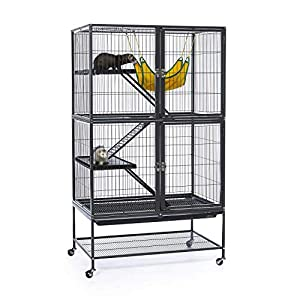 Prevue Hendryx Black Feisty Ferret Cage 4