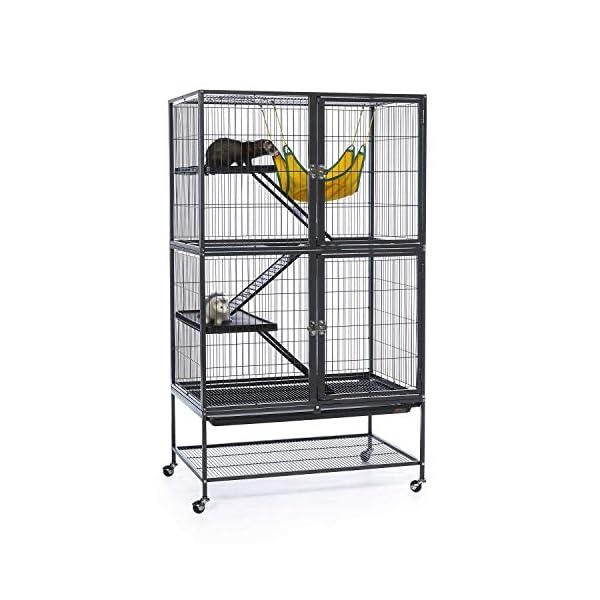 Prevue Hendryx Black Feisty Ferret Cage 1