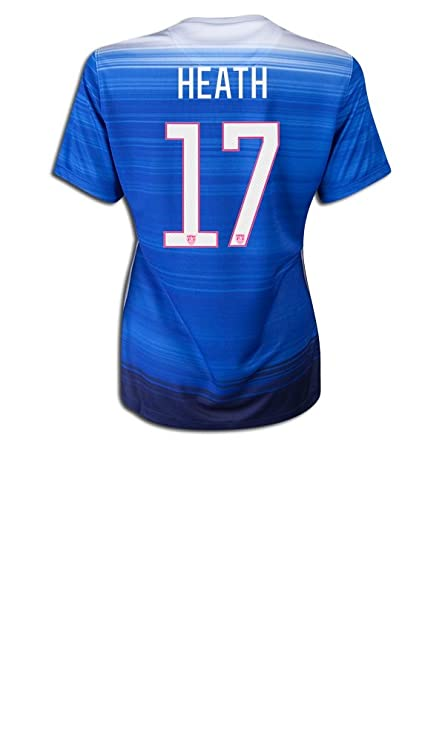 sale retailer b1a68 71577 Amazon.com : Tobin Heath #17 2015 Women's World Cup 3 Star ...