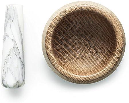 Normann Copenhagen Craft - Mortero de Madera (7,5 cm)
