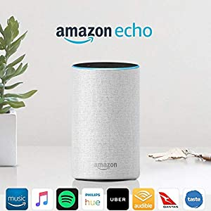 Amazon Echo (2nd generation), Sandstone Fabric