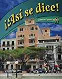img - for Asi se dice: Glencoe Spanish 1b (Spanish Edition) book / textbook / text book