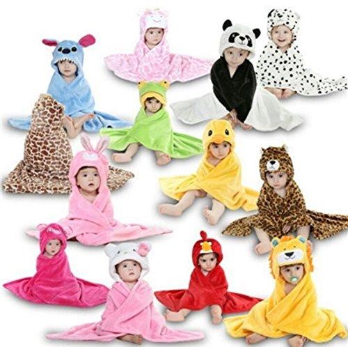Zoopurr-Pets-Baby-Boys-or-Baby-Girls-Hooded-Animal-Blanket-Super-Soft-Huggable-Plush-Hoodie-Blanket