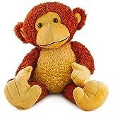 "Beverly Hills Teddy Bear Company Mango Monkey 20"" Plush"