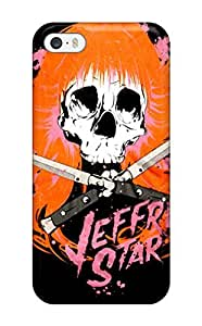 For Iphone Case, High Quality Artistic Jeffree Star Skull By Xdyego For Iphone 5/5s Cover Cases