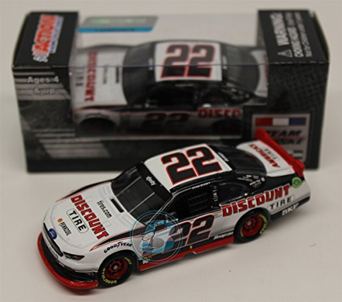 lionel-racing-ryan-blaney-22-discount-tire-2016-ford-mustang-nascar-diecast-car-164-scale