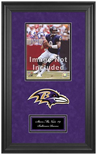 Baltimore Ravens Deluxe 8x10 Team Logo Frame by Sports Memorabilia