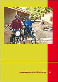 Book Illo-Busa Dictionary