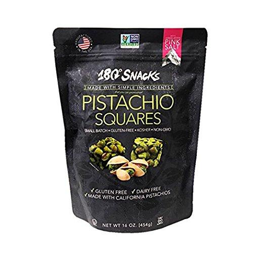 180 Snacks Pistachio Squares, 16 Ounce ()