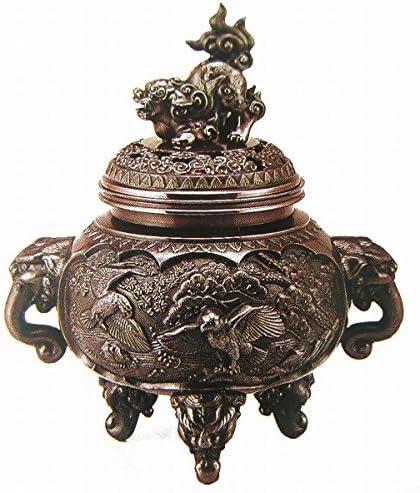 『新特大花鳥香炉』銅製