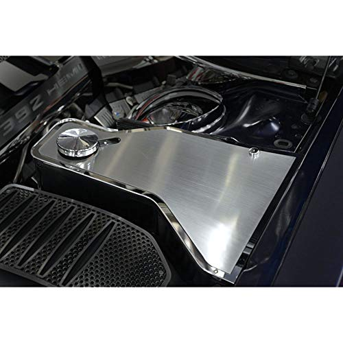 Elite Auto Chrome Acc Water Tank Top Plate fit for 11-15 Dodge Charger w/Acc ()