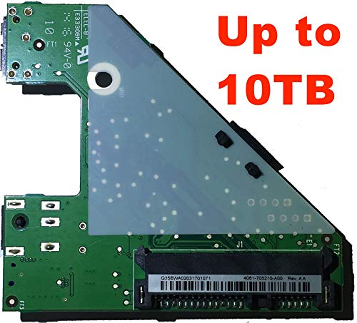Hard Drive Controller Board 4061-775213-000 Rev. AA for WD My Book Essential / Elements 1TB, 2TB, 3TB, 4TB, 5TB, 6TB USB 3.0 ()