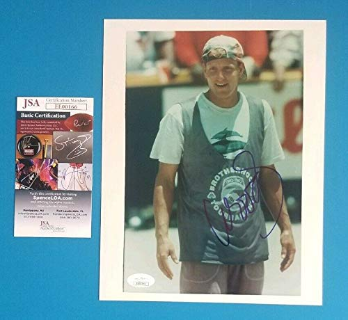 Woody Harrelson Autographed Signed - white Men Can't Jump 8x10 Photo With JSA COA