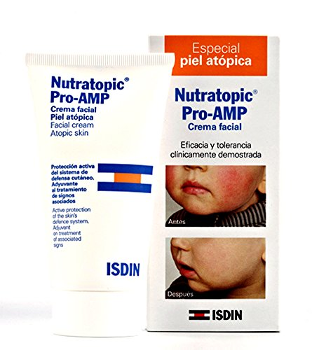 Isdin Nutratopic Pro-AMP atopique Crème visage 50 Ml de la peau.