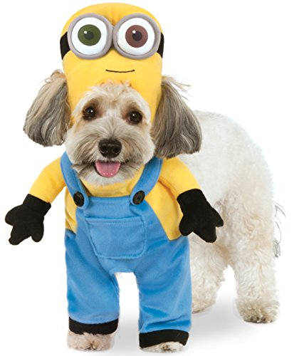 Dog Costume Minion (Minion Bob Arms Pet Suit,)