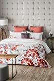 D'Decor Cotton 400Tc Double Bedding Set With 1 Double Bedsheet, 1Double Duvet Cover And 2 Pillow Covers - Red