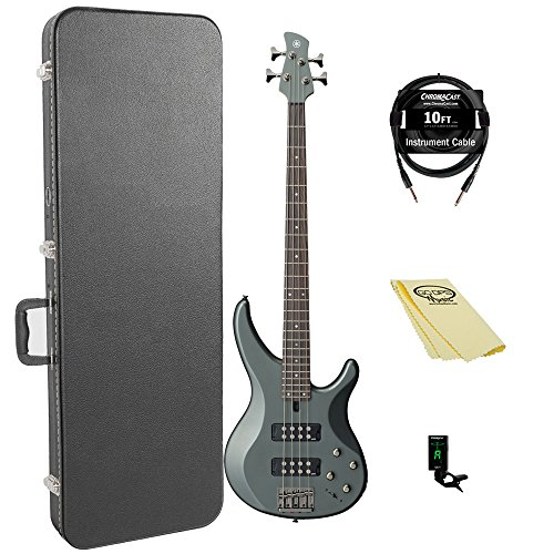 4 String Active Bass Pickup - Yamaha TRBX304 MGR 4-String Bass Guitar Pack
