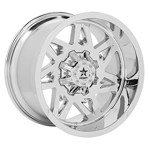 RBP Avenger Wheel with Chrome Finish (20 x 12. inches /5 x 139 mm, -44 mm Offset)