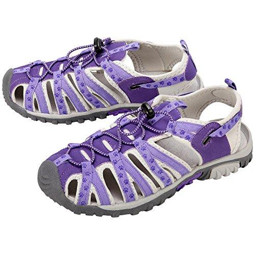 (Pet Lovers Sport Sandals (8, Purple))