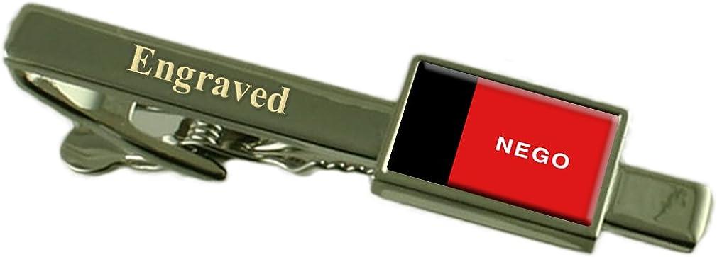 Para/íba Flag Engraved Personalised Tie Clip