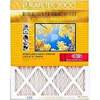 Purafilter Gold 10x20x1 (9.75 x 19.75) (MERV 11) 1-Inch Filter (4 Pack)