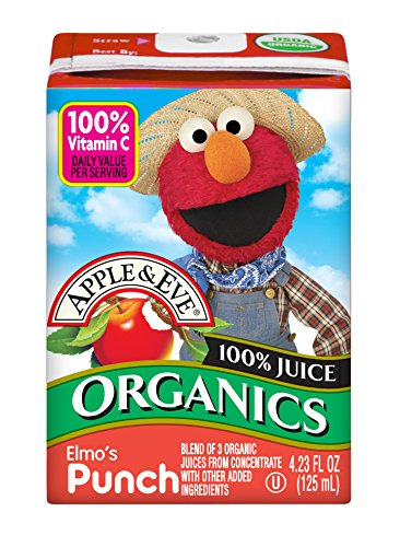 treet Organics, Elmo's Punch, 4.23 Fluid-oz., 36 Count ()