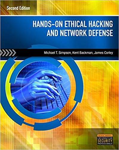 hands on ethical hacking and network defense 3rd edition pdf
