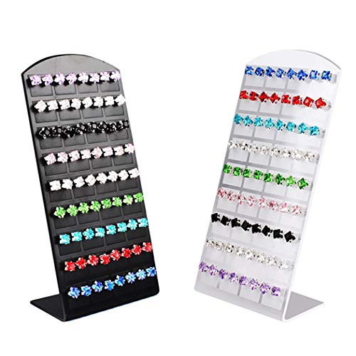 Holder Display Jewelry Earring (OYTRO Multi-Function Earrings Rack Jewelry Holder Showcase Display Organizer Jewelry Towers)
