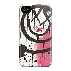 PhilHolmes Iphone 4/4s Shock-Absorbing Hard Cell-phone Case Support Personal Customs Colorful Foo Fighters Pattern [WMQ7535divj]