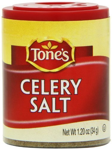 Tone's Mini's Celery Salt, 1.20 Ounce (Pack of 6) by Tone's