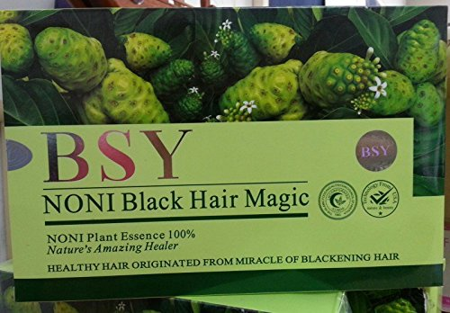 how to make noni hair dye