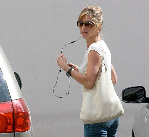 Jennifer Anniston White Shirt Sunglasses and Jeans Photo (8 inch by 10 inch) PHOTOGRAPH - Jennifer Glasses Anniston