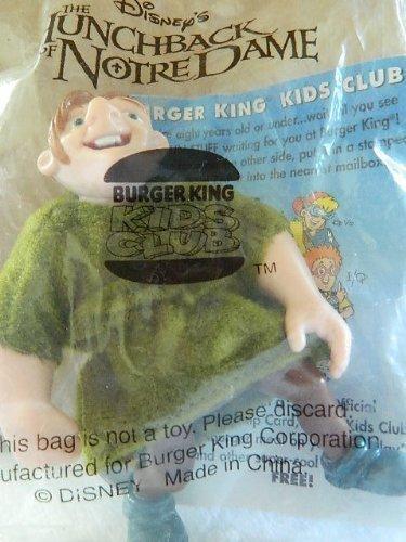 Burger King QUASIMODO Figurine Kids Meal Toy - Disney's Hunchback of Notre Dame by Disney by Disney ()