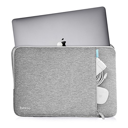 tomtoc 360° Protective Laptop Sleeve Compatible with13 inch New MacBook Pro A1989 A1706 A1708 USB-C | Dell XPS 13, Notebook Bag Case 13'' with Accessory Pocket & CornerArmor Patent by tomtoc (Image #3)