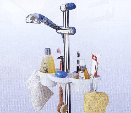 Duschablage Duschstangenregal Regal Dusche Ablage: Amazon.de: Küche ...