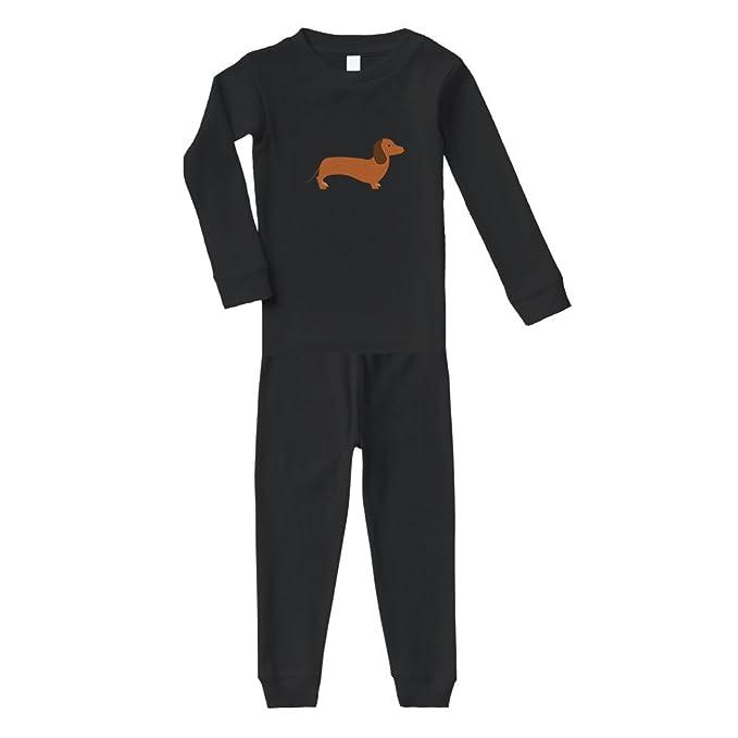 1d3dacebf33f Amazon.com  Dachshund Dog  1 Cotton Long Sleeve Crewneck Unisex ...