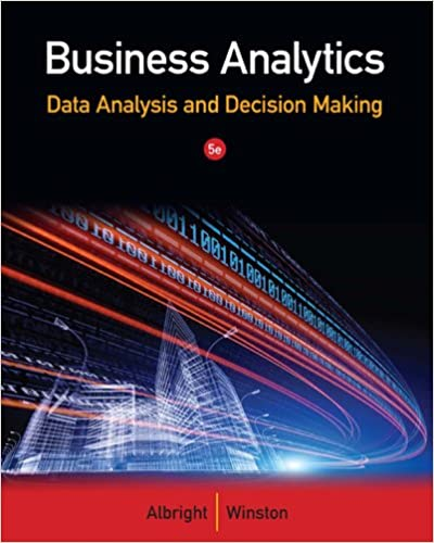 Amazon business analytics data analysis decision making business analytics data analysis decision making 5th edition kindle edition fandeluxe Gallery