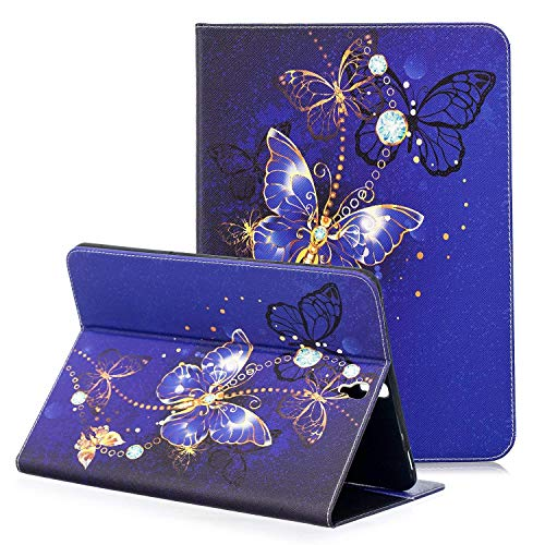 NOKEA Tablet Case for Samsung Galaxy Tab S3 9.7, Art Pattern SlimLightweight Folding Premium PU Leather Folio Stand Cover Case with Card Holder for Tab S3 9.7