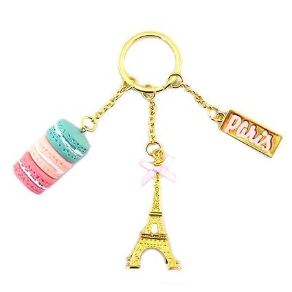 Les Trésors De Lily [N7951] - Llavero Macarons De Paris de ...