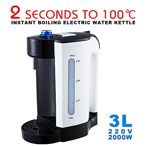 morovan Electric Water Kettle Dispenser , 2 Seconds Instant Boiling Water , 220V 2000W 3L - (Boiling Water Dispenser)