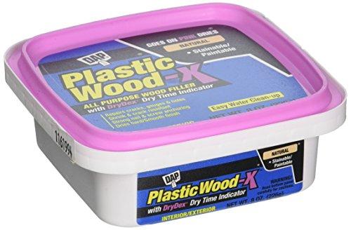 DAP 541 Series 00541 1/2pt Natural Plastic Wood-X w/Drydex